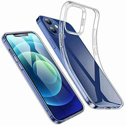 ESR Coque Compatible avec iPhone 6.1 Pouces 12 et 12 Pro, Housse de Protection en TPU, Transparente 1
