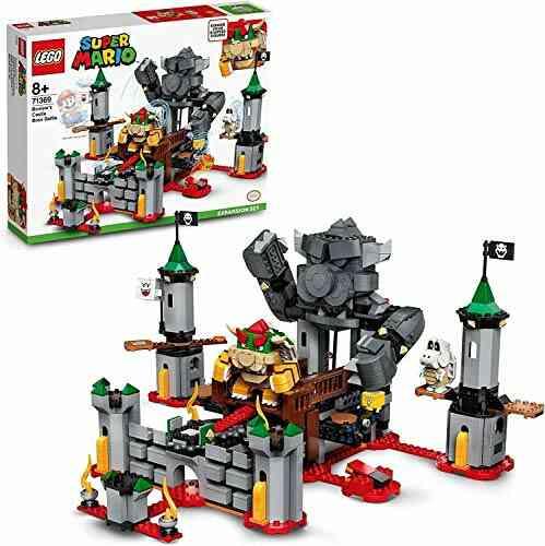 LEGO71369SuperMarioJeu de construction - Ensemble d'Extension La bataille du château de Bowser 1