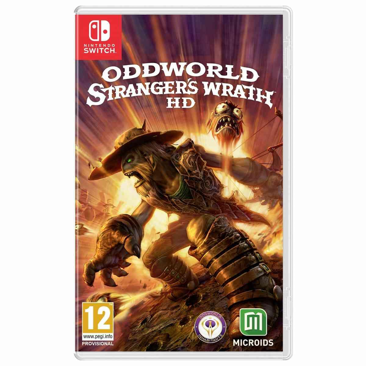 Oddworld Strangers Wrath HD Edition standard Nintendo Switch 1