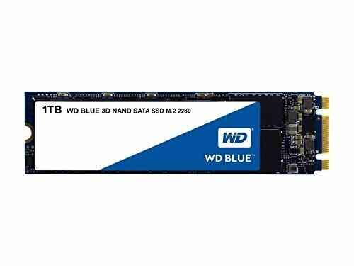 Western Digital - WD Blue SSD - SSD interne 1To M.2 SATA 3D NAND 1