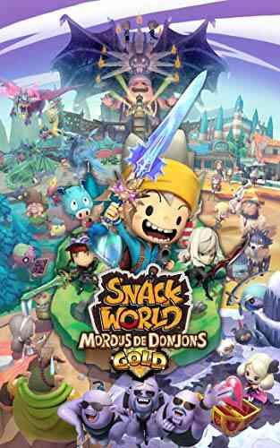 - Avec le code AFFAIRE20 - Jeu Nintendo Switch Snack World : Mordus de Donjons - Gold 1