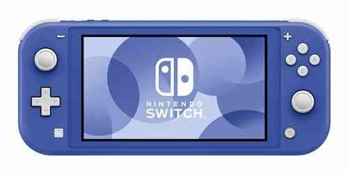 - Précommande - Console portable Nintendo Switch Lite Bleue 1