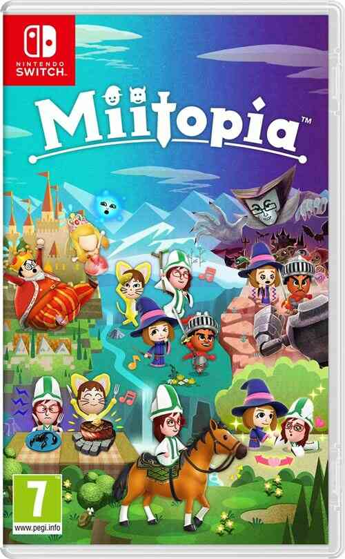- Précommande - Miitopia Nintendo Switch 1