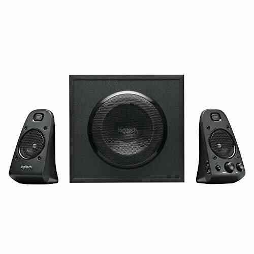 Logitech Z623 Système de Haut-Parleurs 2.1, Certifié THX, Dolby & DTS, 400 Watts en Puissance, Multi-Dispositifs, Entrées Audio 3,5 mm et 1