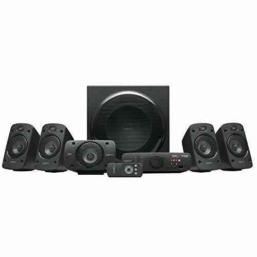 Logitech Z906 Système de Haut-Parleurs avec Son Surround 5.1, Certifié THX, Dolby & DTS, 1000 Watts en Puissance, Multi-Disposit 1