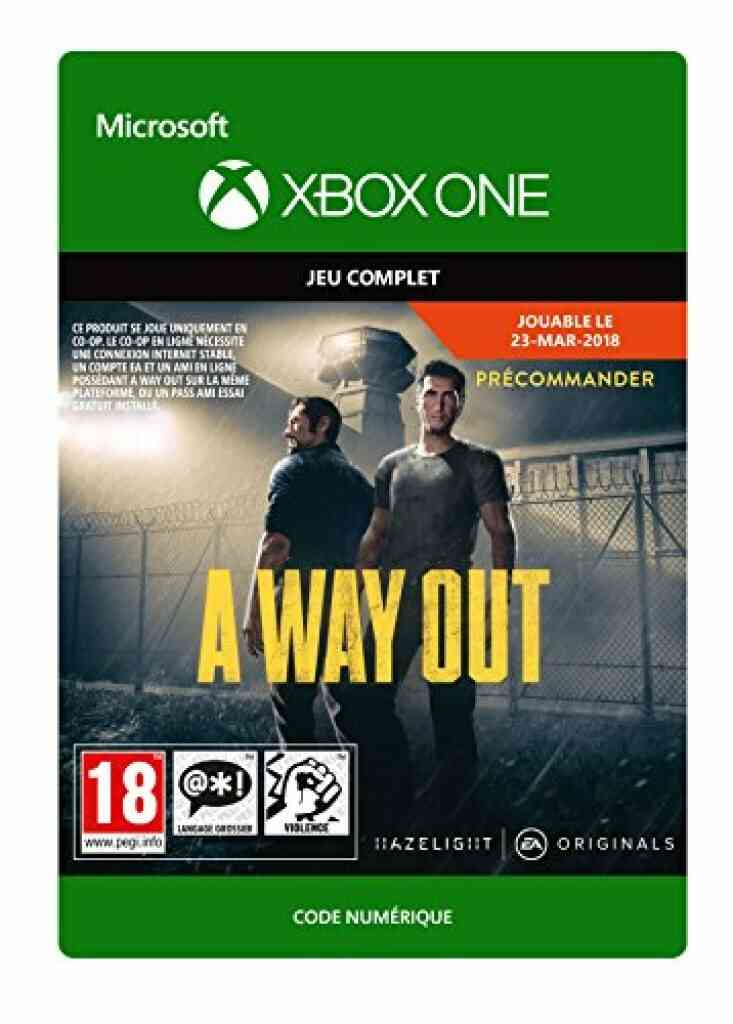 A Way Out | Xbox One - Code Jeu à Télécharger 1