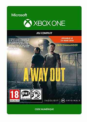 A Way Out | Xbox One - Code Jeu à Télécharger 1