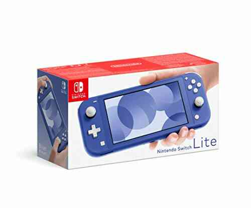 Console Nintendo Switch Lite Bleu 1
