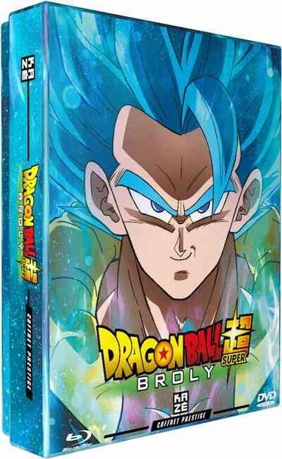 Dragon Ball Super Broly Steelbook Blu-ray 1