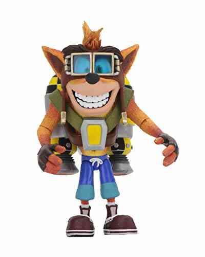 Figurine - Crash Bandicoot - Action Figure avec Jetpack - 15 cm 1