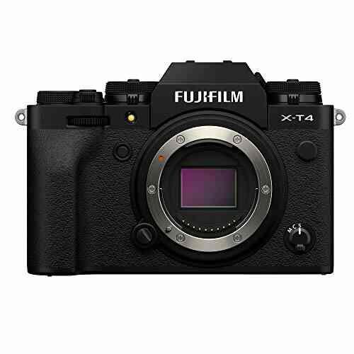 Fujifilm X-T4 Appareil Photo numérique sans Miroir Noir 1