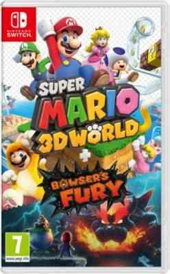 Jeu Switch Nintendo Super Mario 3D World+Bowser's Fury 1