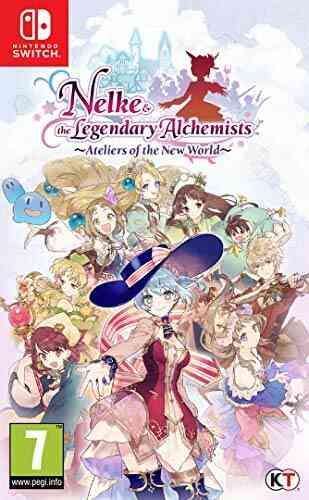 Nelke & the Legendary Alchemists: Ateliers of the New World pour Nintendo Switch 1
