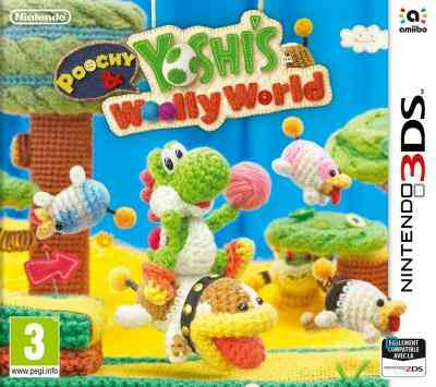Poochy et Yoshis Woolly World Nintendo 3DS 1