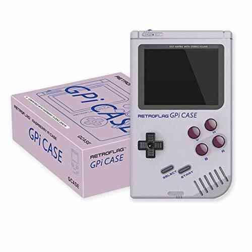 RETROFLAG GPi Case pour Raspberry Pi Zero et Zero W avec Arrêt de Sécurisé, Système Portable de Jeu Rétro avec Dissipateur Thermique 1