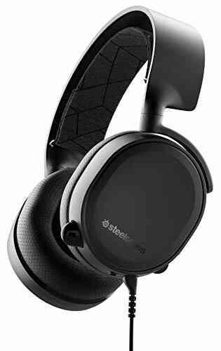 SteelSeries Arctis 3 Console - Casque de Jeu Filaire Stéréo - pour PlayStation 5, PS4, Xbox One, Nintendo Switch, RV, Android et iOS - Noir 1