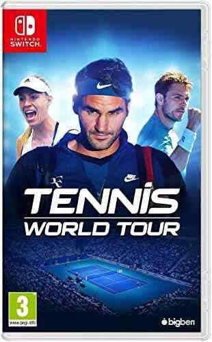 Tennis World Tour pour Switch 1