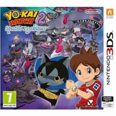 Yo-Kai Watch 2 : Spectres Psychiques Nintendo 3DS 1