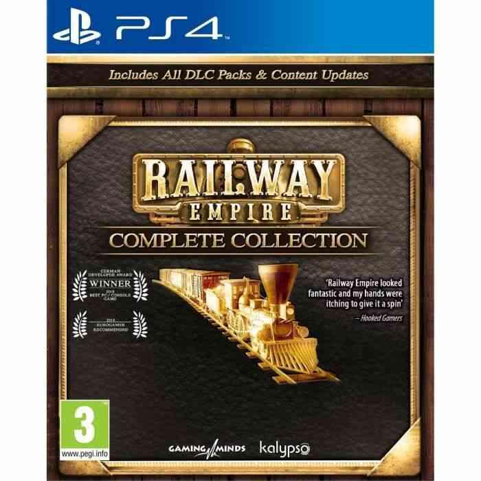 - Avec le code AFFAIRE20 - Railway Empire Complete Collection Jeu PS4 1
