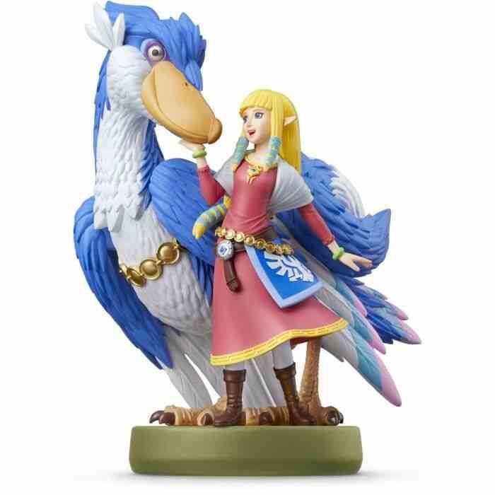 - Précommande - Figurine Amiibo : Zelda et son Célestrier - The Legend of Zelda: Skyward Sword HD 1