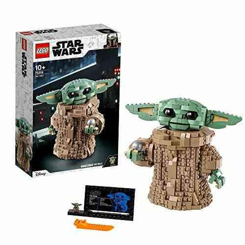 LEGO75318StarWars:TheMandalorian,Figurinedel'EnfantBébéYoda,idéeCadeau 1