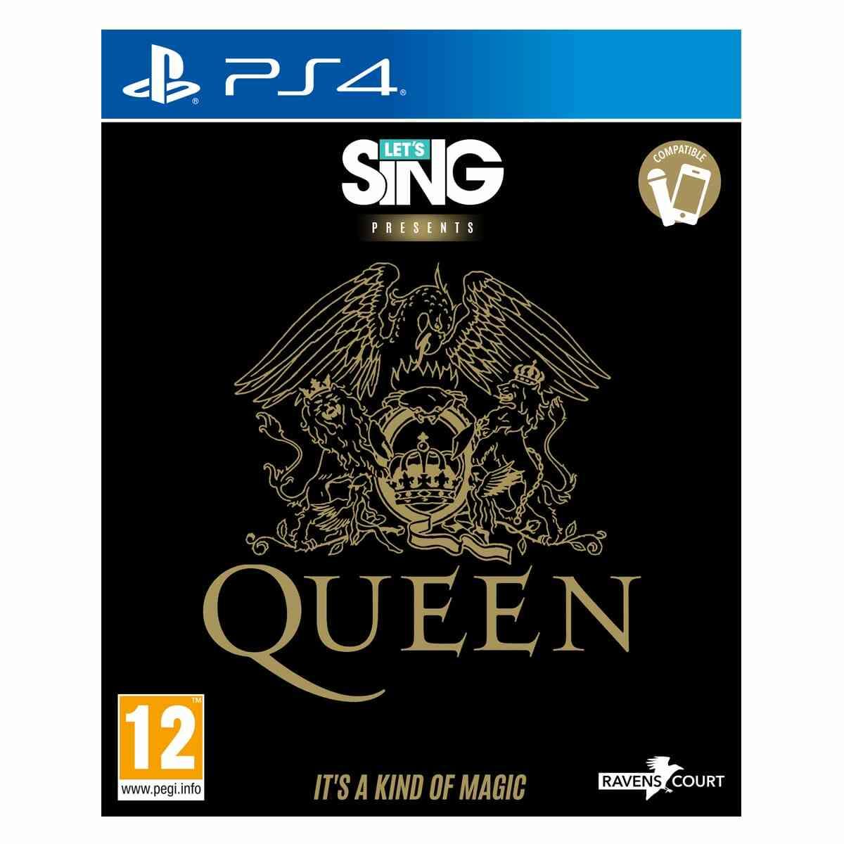 Lets Sing Queen PS4 1