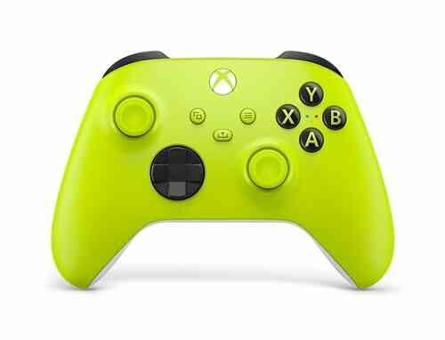 Manette Xbox Series X sans fil Electric Volt Jaune 1