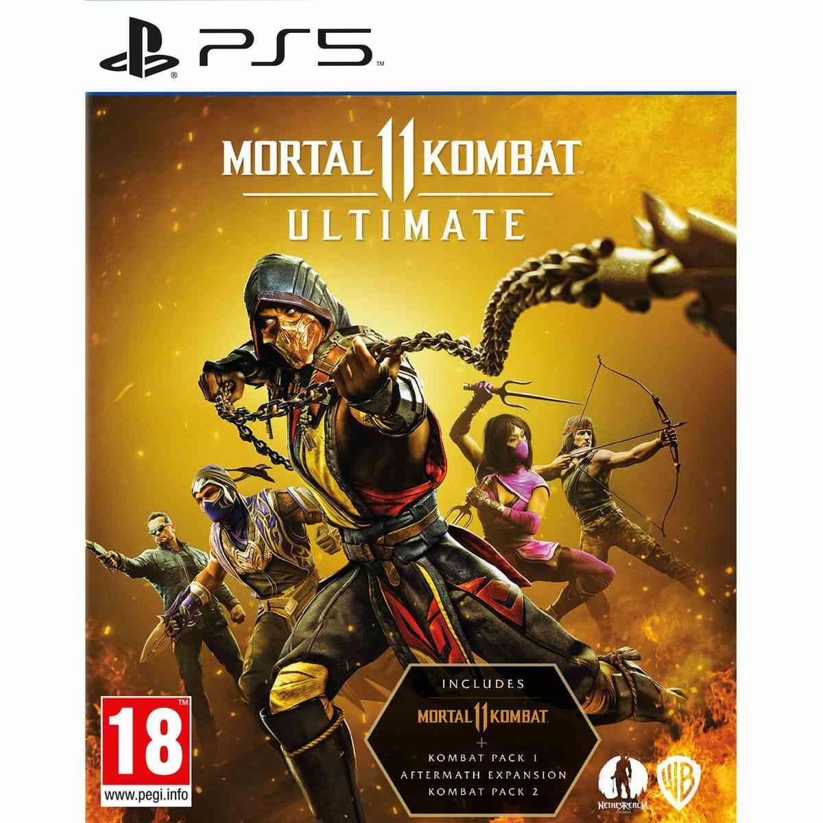 Mortal Kombat 11 Ultimate PS5 1