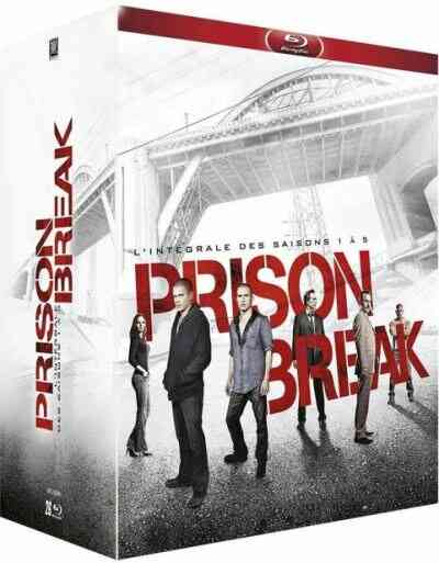 Prison Break Saisons 1 à 5 Blu-ray 1