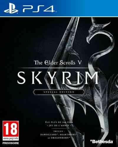 The Elder Scrolls V Skyrim PS4 1