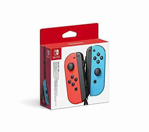 Nintendo Switch Paire de manettes Joy-Con - droite bleu néon/gauche rouge néon 1