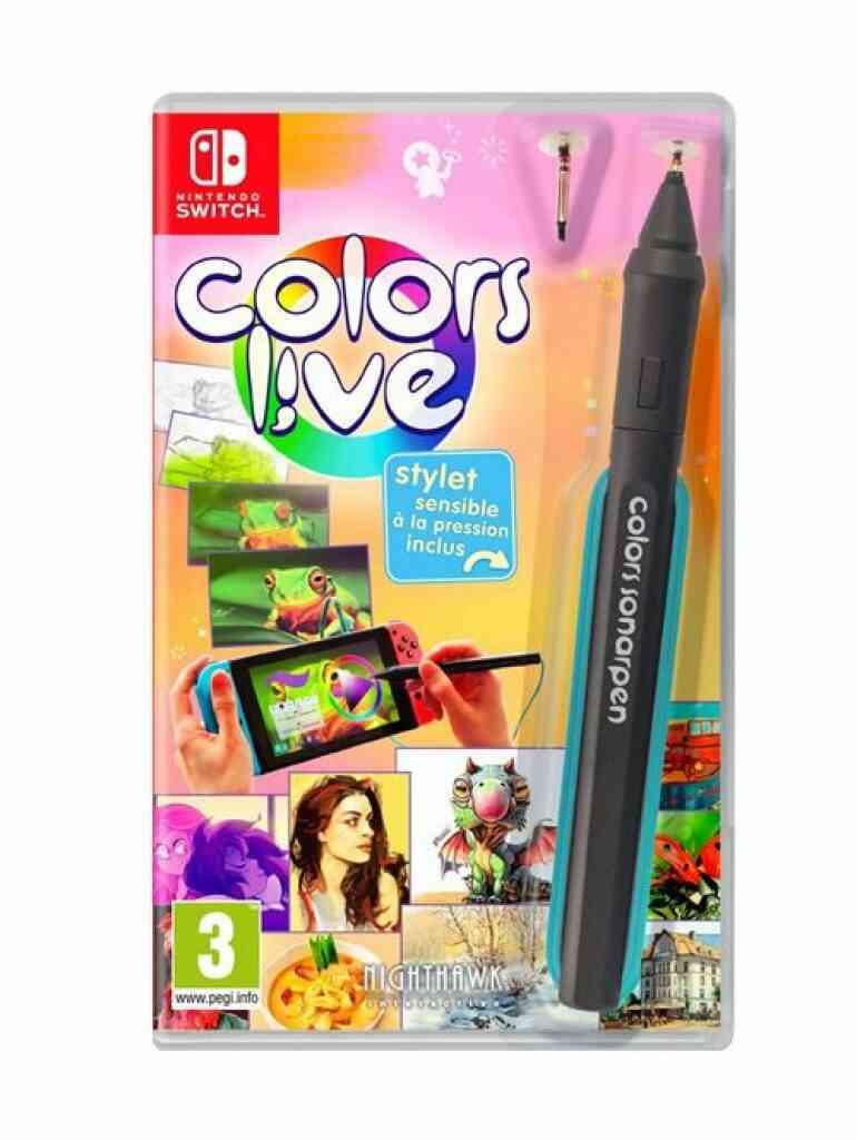 - Précommande - Colors Live! Nintendo Switch 1