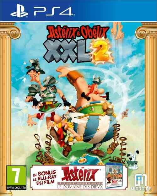 Astérix & Obélix XXL 2 + Astérix et le Domaine des Dieux PS4 1