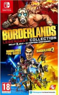 Jeux PS4 Take2 Borderlands legendary collection 1