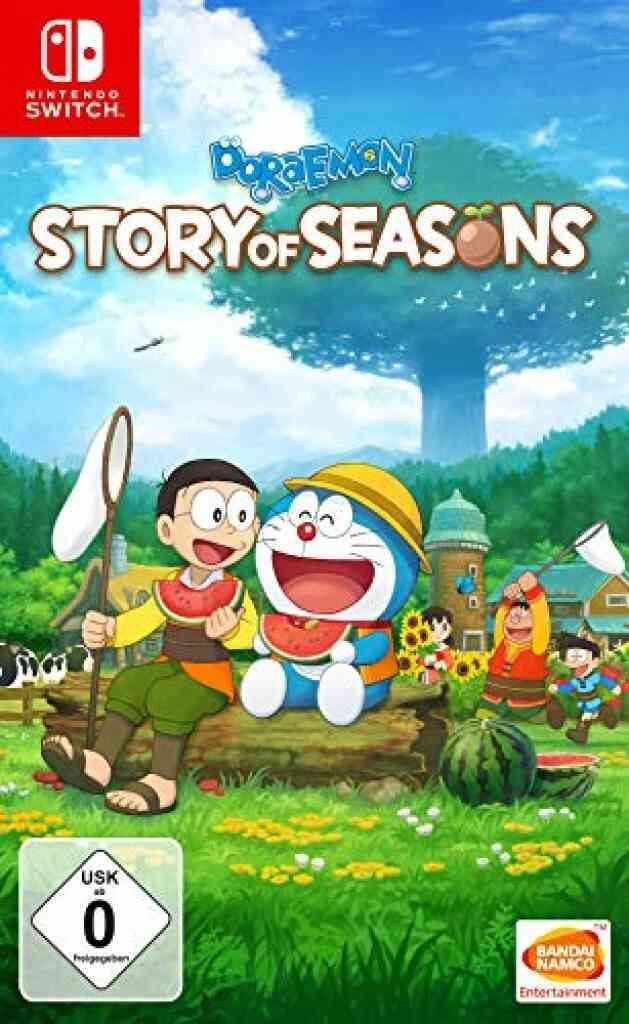 Doraemon Story of Seasons - Switch - Edition allemande (texte du jeu en français) 1