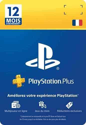 PlayStation Plus Card - Abonnement 12 Mois 1