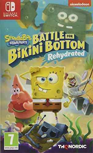 Spongebob Squarepants: Battle For Bikini Bottom - Rehydrated Jeu Nintendo Switch 1