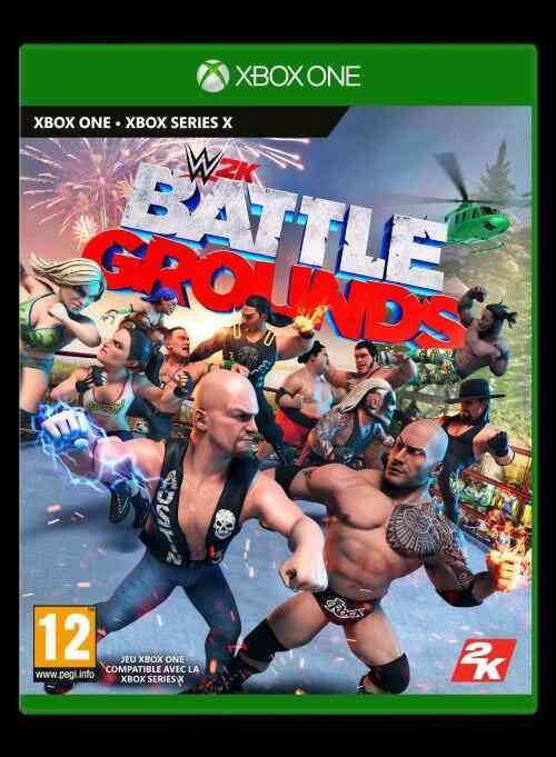WWE 2K Battlegrounds Jeu Xbox One 1