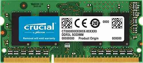 Crucial CT8G3S186DM 8Go (DDR3/DDR3L, 1866 MT/s, PC3-14900, SODIMM, 204-Pin) Mémoire pour Mac 1