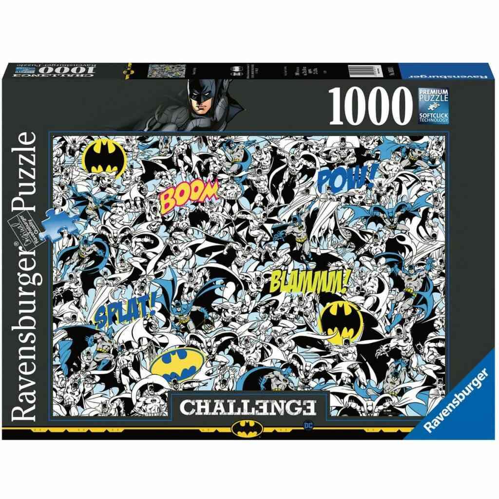 - Avec le code SHOPPING10 - Puzzle Challenge 1000 pièces Batman 1
