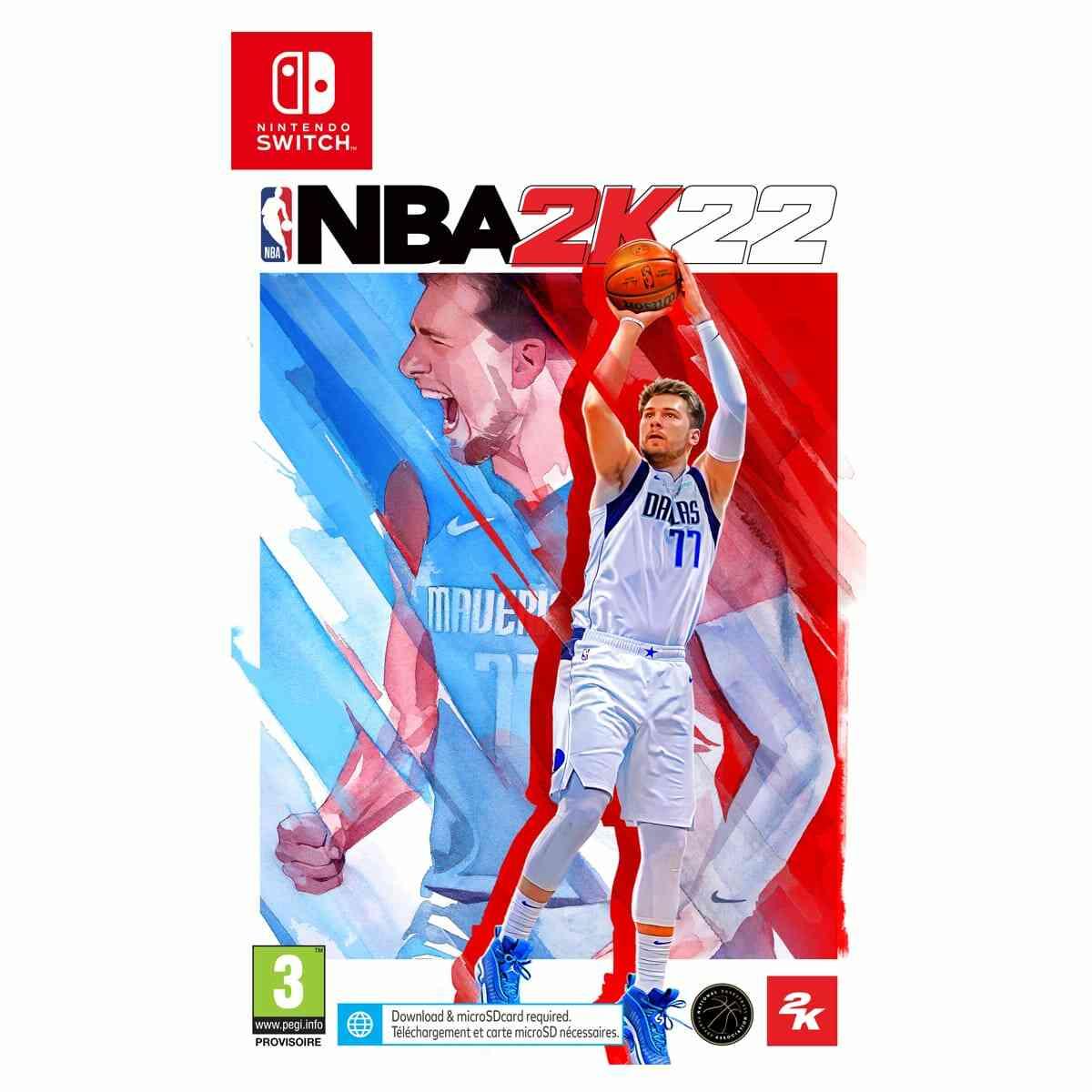 NBA 2K22 Nintendo Switch 1