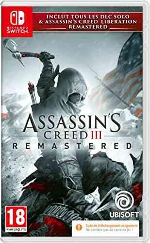 Assassins Creed 3 + Assassins Creed Liberation Remaster (Code dans la boite) Jeu Switch 1