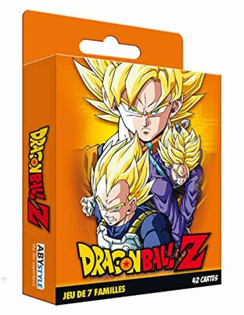 Cartamundi France - ABYstyle ABYstyle - Dragon Ball - Jeu de Cartes - 7 familles DBZ 1