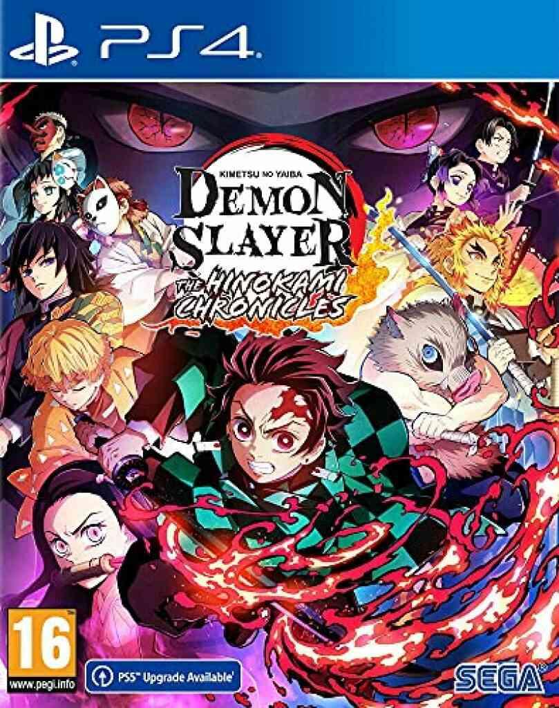 Jeux PS4 Sega Demon slayer kimetsu no yaiba ps4 1