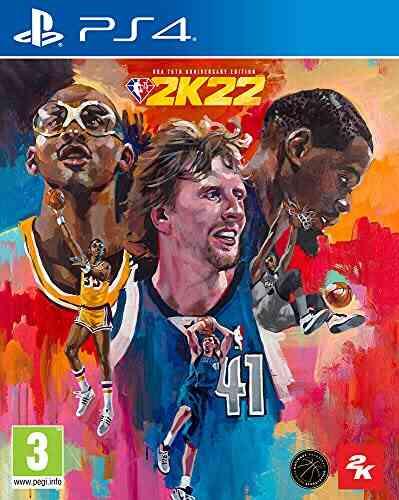 NBA 2K22 PS4 Edition 75ème Anniversaire 1