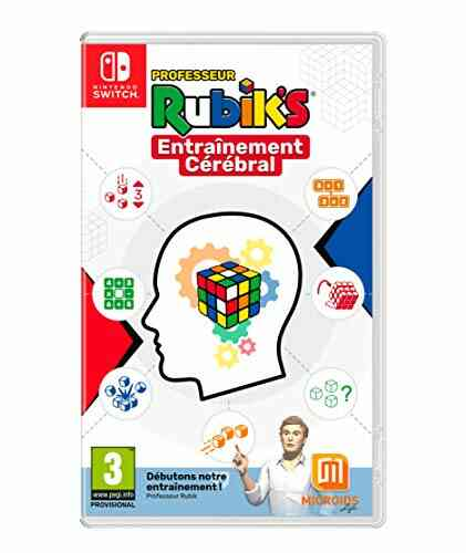 Jeux PS4 Just For Games Entrainement cerebral du pr rubik 1