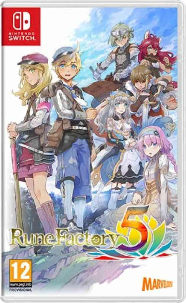 Rune Factory 5 Nintendo Switch 1