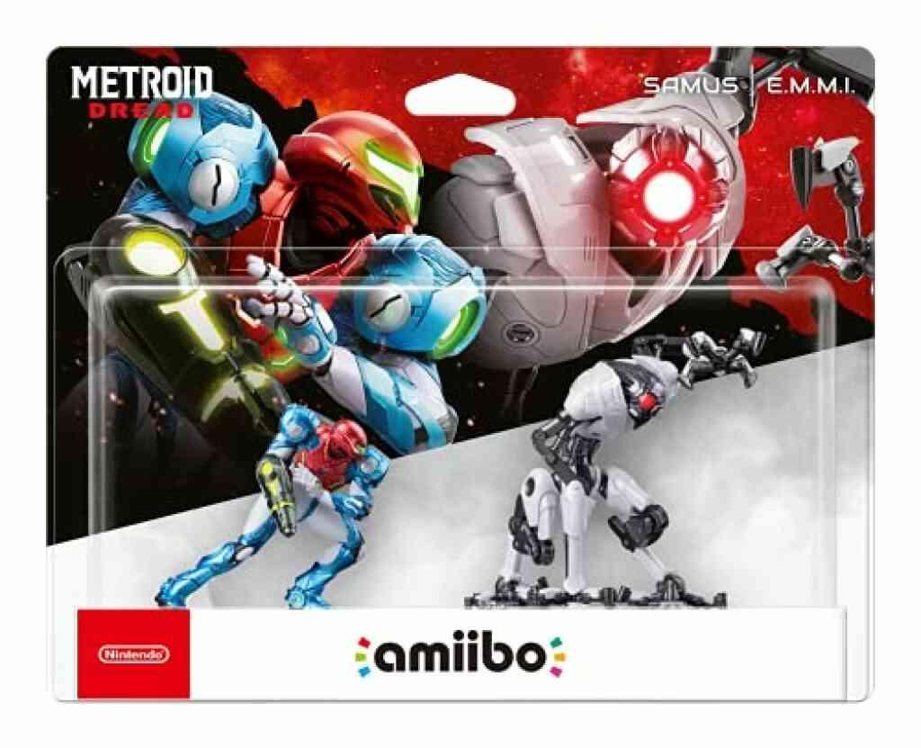 Amiibo collection Metroid Dread SAMUS et E.M.M.I. 1