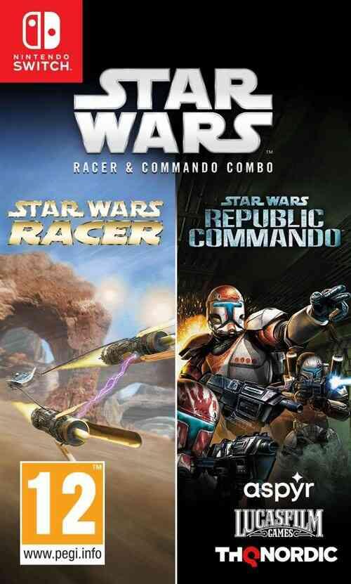 Star Wars Racer And Commando Combo Nintendo Switch 1
