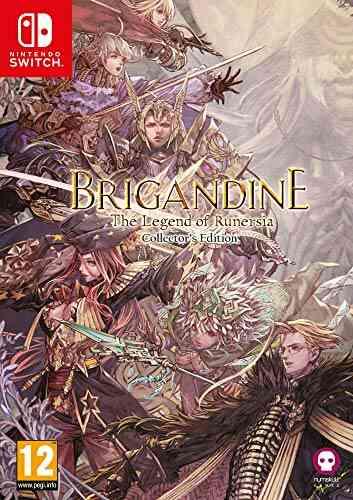 Brigandine Legend of Runersia Collectors Edition Nintendo Switch 1